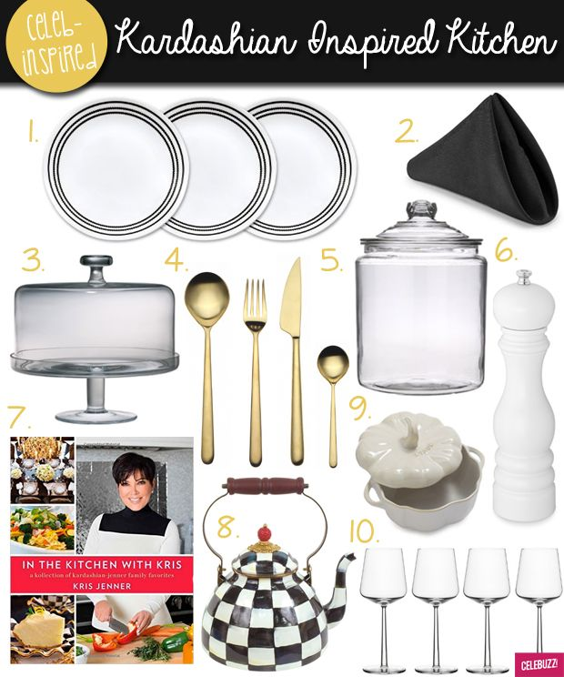 In The Kitchen With Kris: 10 Items For Your Kardashian Inspired Kitchen