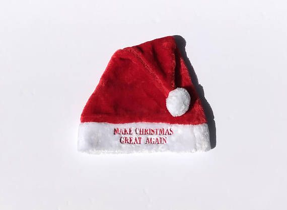 1e86c9f6e48  14.99 President Donald Trump - Make Christmas Great Again   Make America  Great Again MAGA Santa Hat