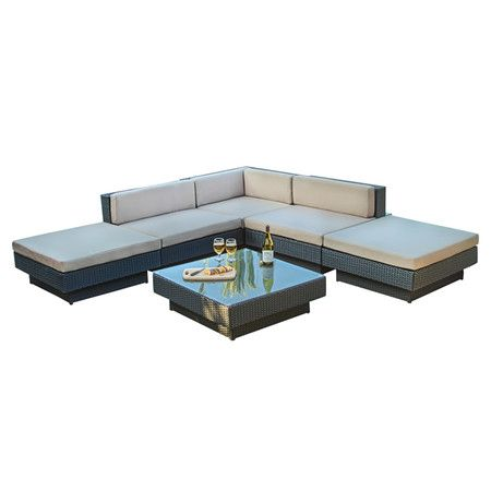 6-Piece Francine Patio Sectional Set  at Joss and Main
