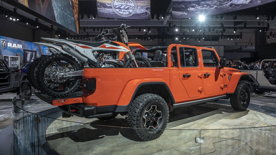 2020 Jeep Gladiator Pickup Truck S Full Specs And Photos Revealed Trucks Jeep Gladiator Pickup Trucks