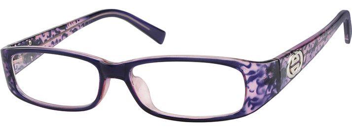 Order Glasses Zenni Optical : Order online, womens purple full rim acetate/plastic ...