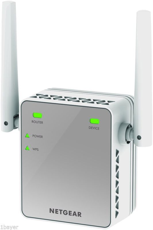 Netgear n300 computer tablet network booster wifi range extender say goodbye to wi fi dead zones convenient discreet and easy to install extended wi fi coverage is just an outlet away with this essentials edition greentooth Images