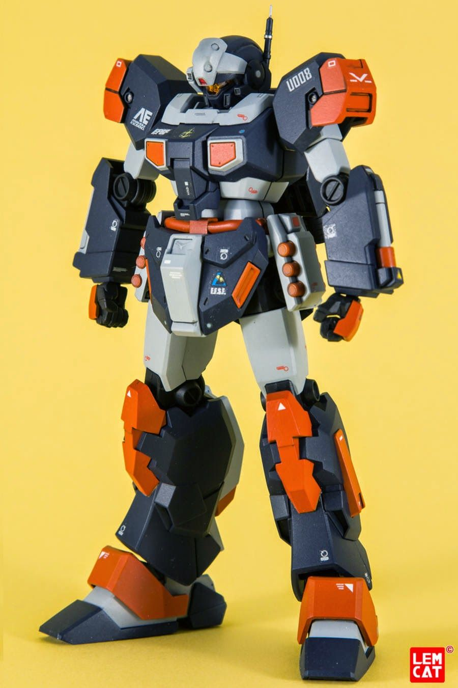 "Painted Build: HGUC 1/144 RGM-96X Jesta ""LemSta"" - Gundam Kits Collection News and Reviews"