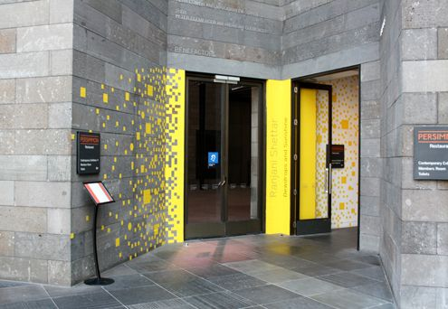 Environmental Graphics Wayfinding For The Ngv S