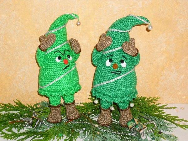 Häkelanleitung geknickter Weihnachtsbaum   Weihnachten (gehäkelt ...