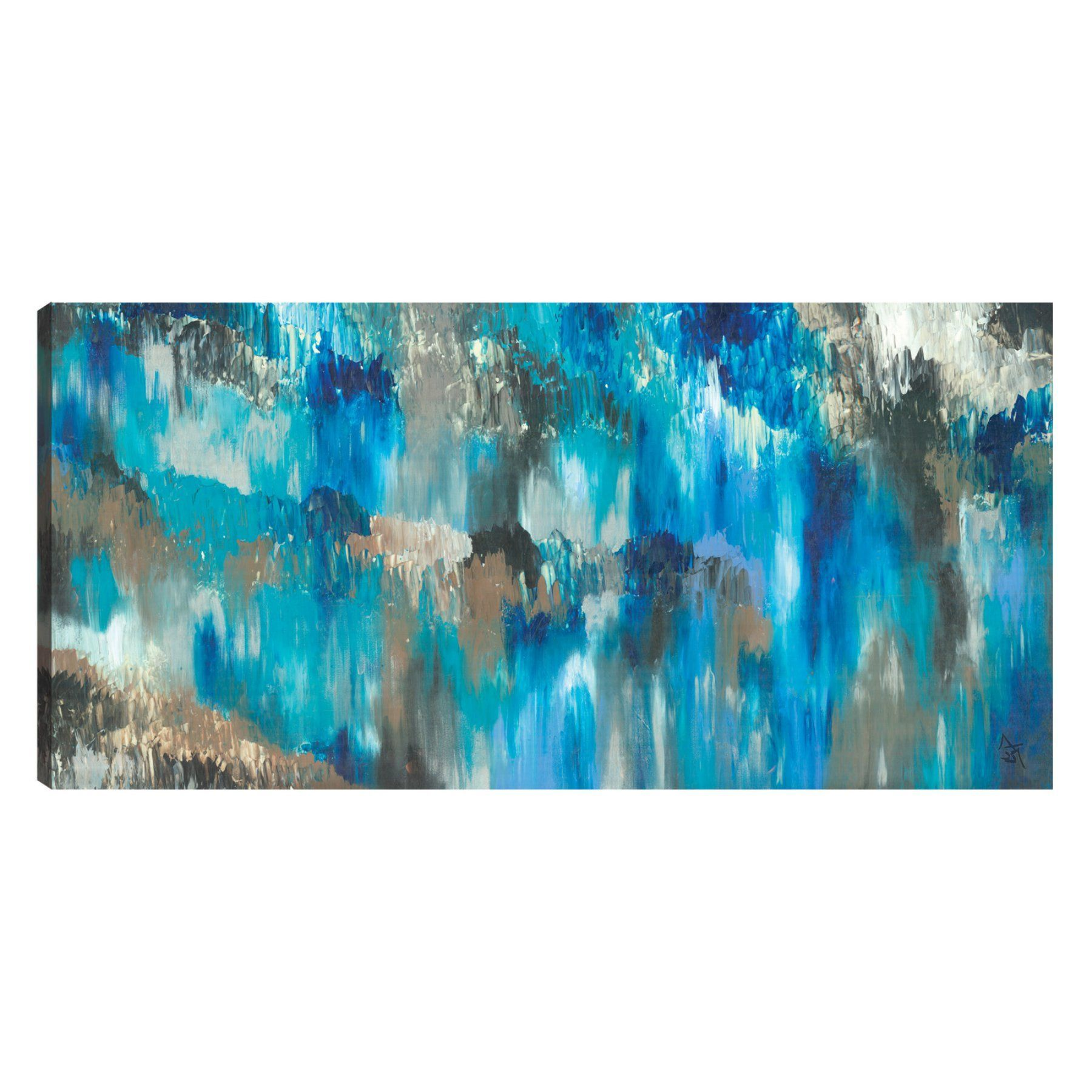 Artmaison canada exotic blue wall art snjonl blue walls and