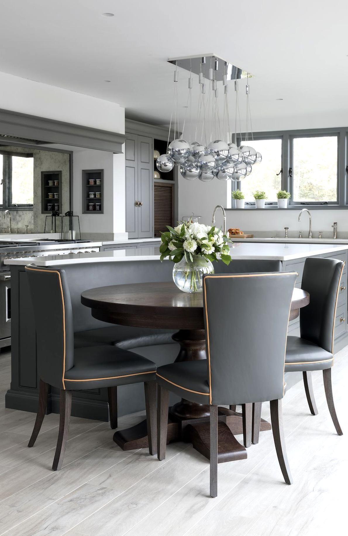 Modern Classic Kitchen Design: Walton Barn Classic Contemporary Barn Project