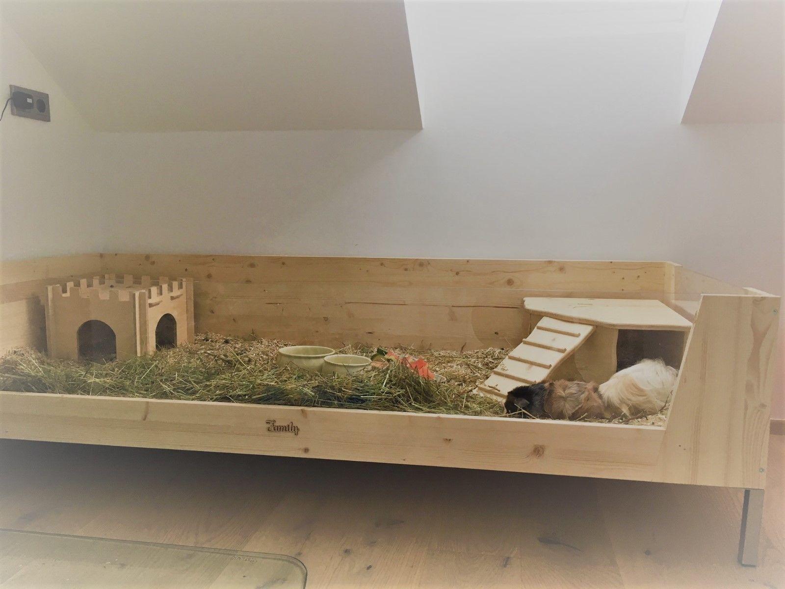 Meerschweinchen Gehege Holz Vom Schreiner Gebaut 180x80x35 Eur