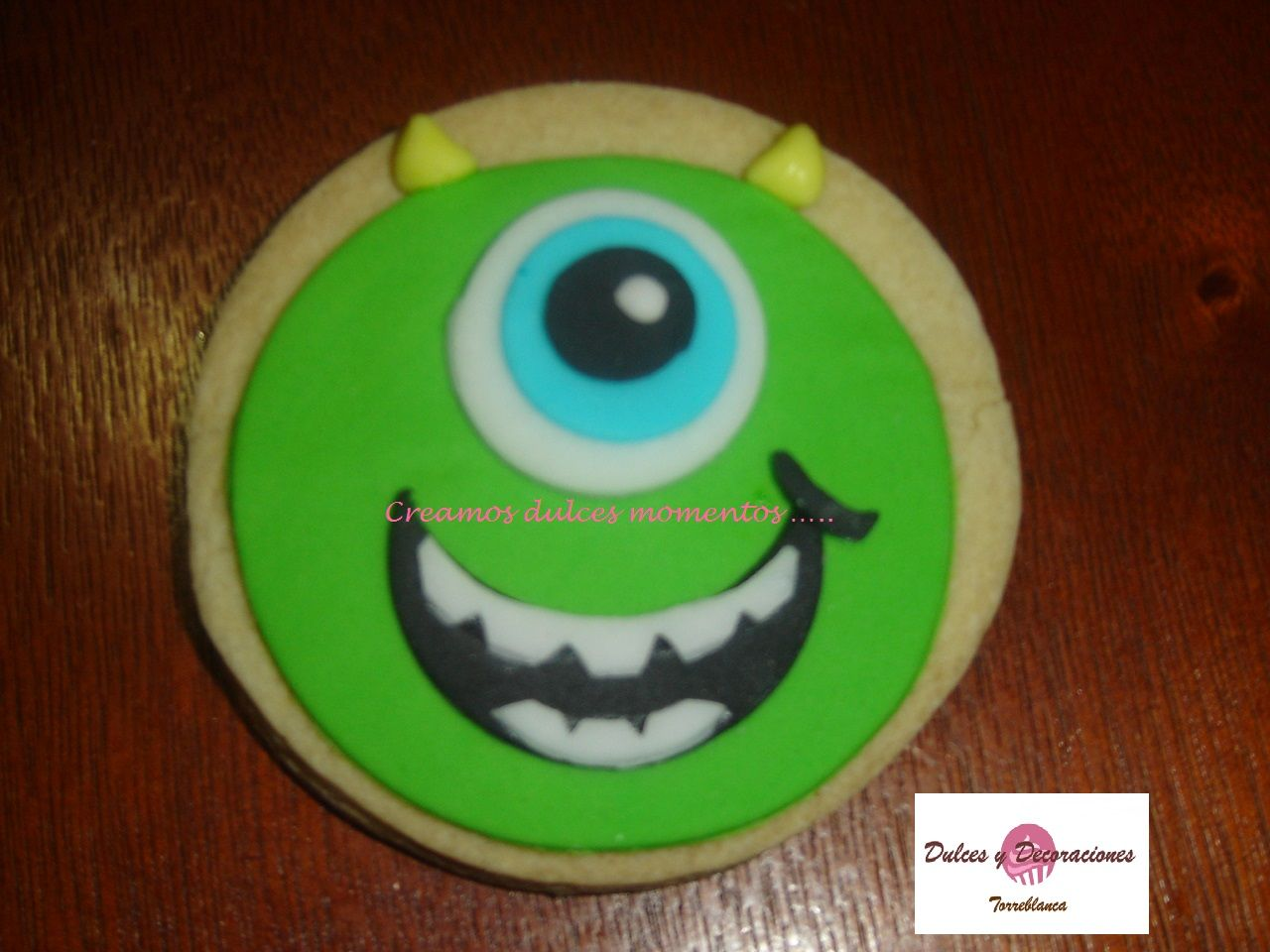 Precio De Galletas Decoradas Galleta De Mantequilla Con Fondant De Monster Inc Informes
