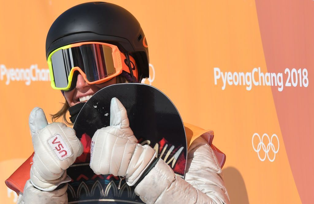 American Jamie Anderson wins second consecutive Olympic ...