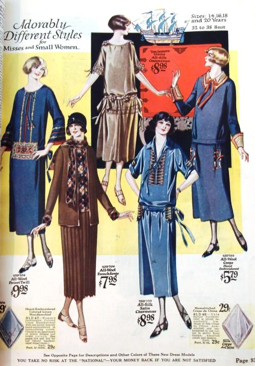 National Cloak and Suit Company catalogue, Fall-Winter 1924-25