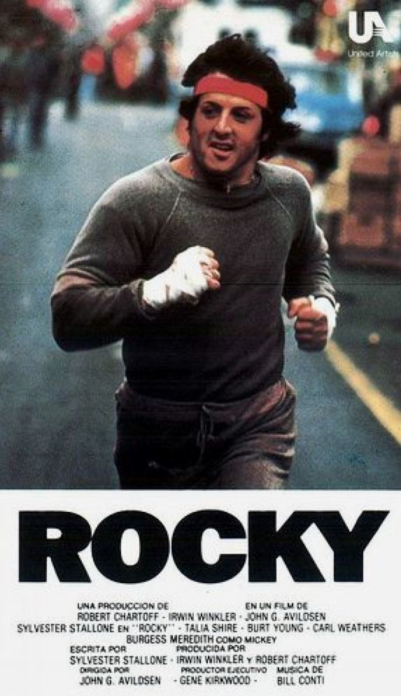 Rocky ▪️ John G. Avildsen (1976) 8.1 | Rocky balboa, Rocky film ...