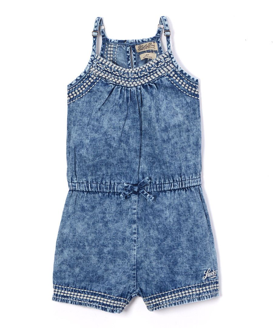 Lucky Brand Girls Fashion Romper