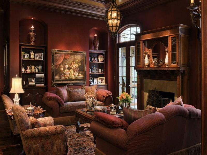 Lovely 22 Cozy Country Living Room Designs