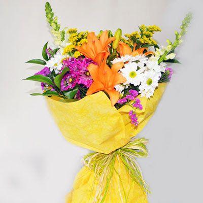 Cómo hacer un ramo de flores para regalo | Ramos de flores para ...
