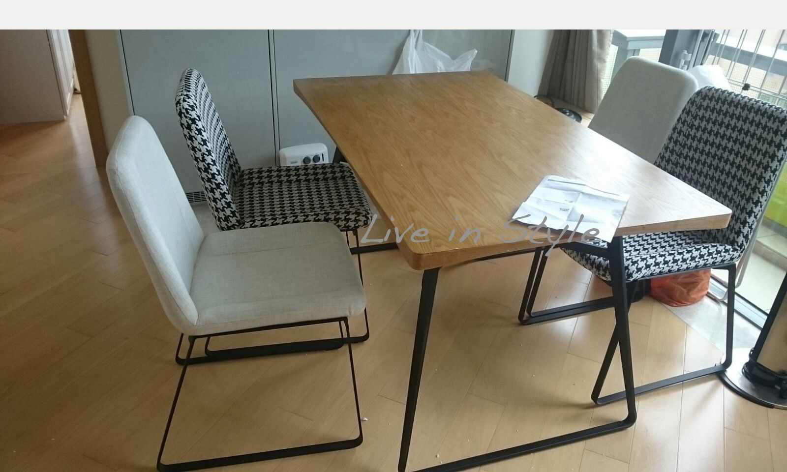 Flyx Dining Table Table Contemporary Dining Table Dining Table