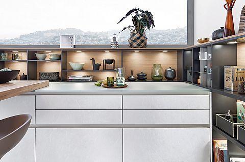 Concrete c holz modern style küchen küchen marken einbauküchen