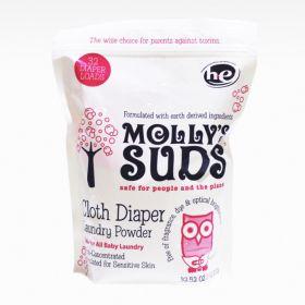 Mollys Cloth Diaper Pail Powder Baby Laundry Laundry Powder