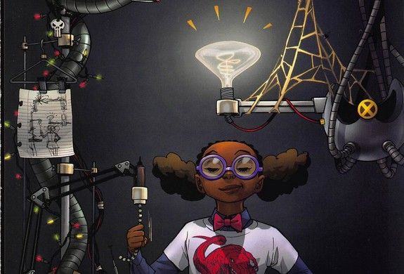 MARVEL Wants You To Know MOON GIRL Is The Smartest Person In The Marvel Universe