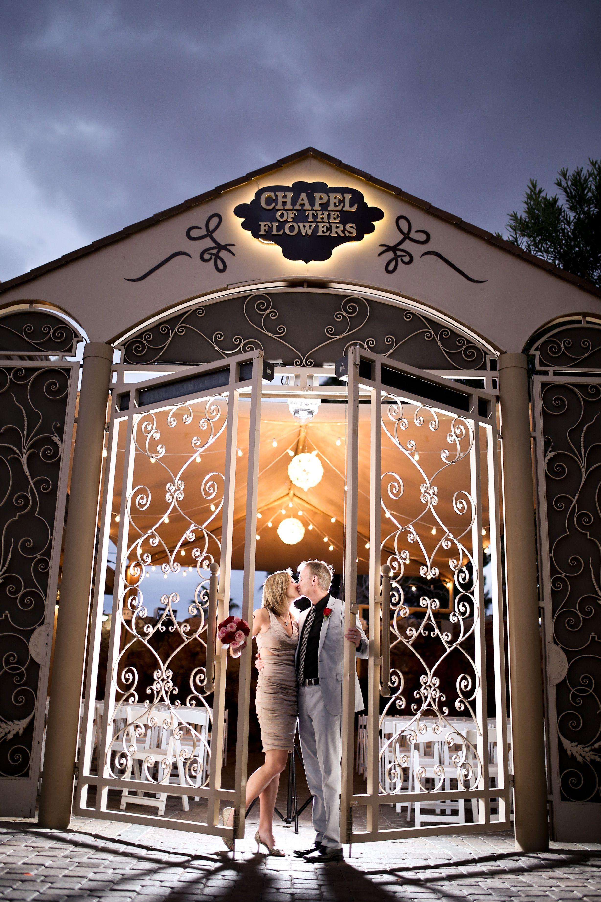 Chapel of the Flowers Glass Gardens Las Vegas Wedding