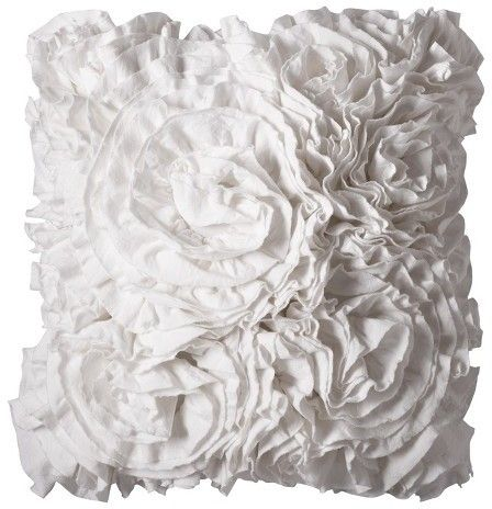 Xhilaration® XhilarationTM Jersey Ruffle Decorative Pillow