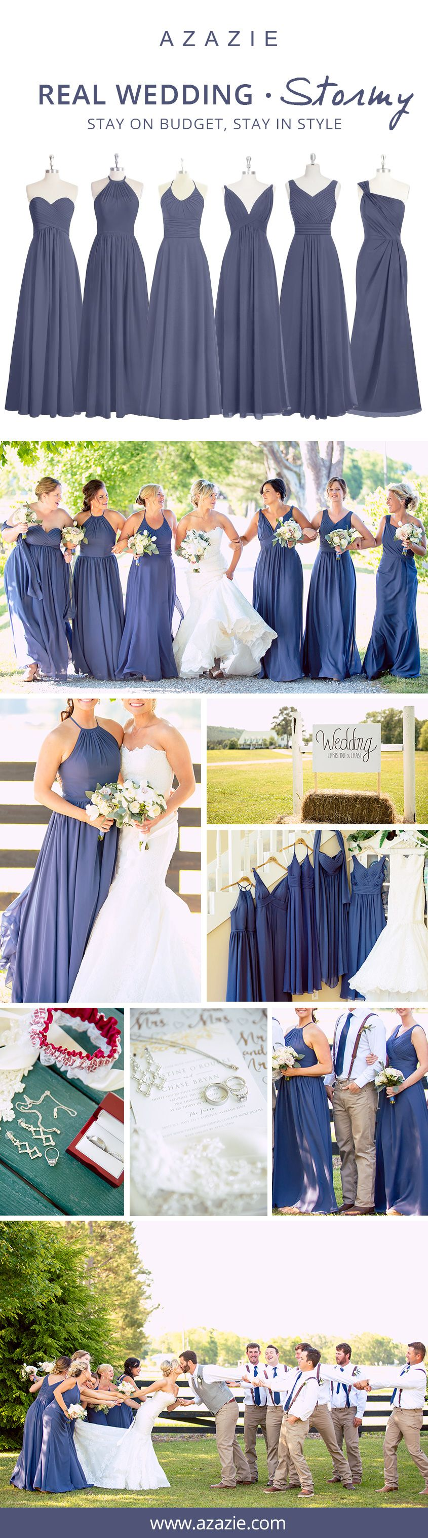 Looking for the perfect color for your bridesmaids this fall stormy is the way to steal the show on your wedding day let your bridesmaids personalities shine and mix n match your bridesmaid dresses ombrellifo Gallery
