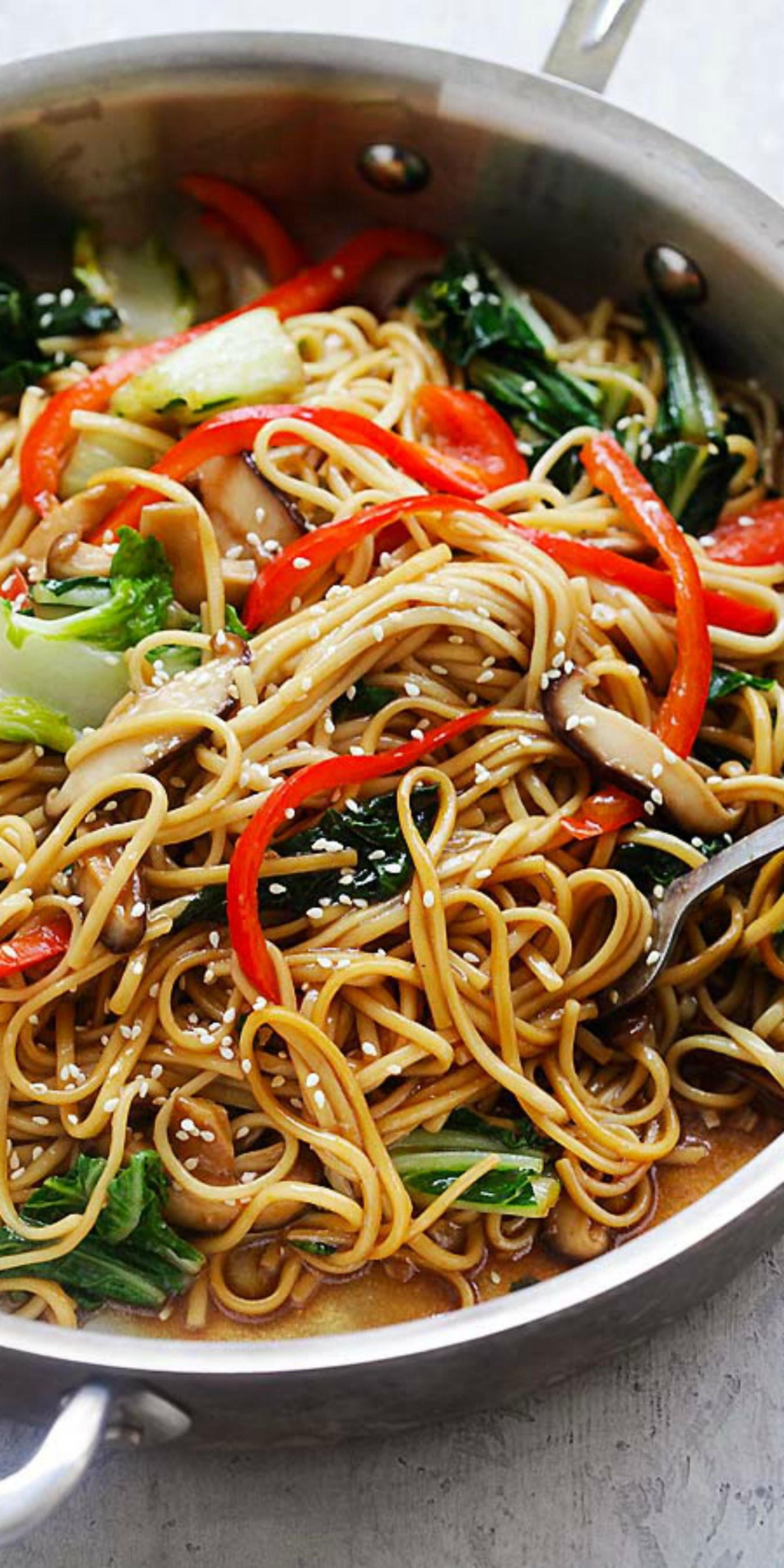 Lo Mein with Vegetables - Lo Mein Noodles - Rasa M