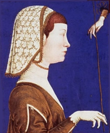 1473- Eleanor of Naples marries Ercole I d'Este, Duke of Ferrara. The next year, she begins birthing heirs for him. She will produce a child almost every year through 1481, resulting in six total, as well as ruling the duchy in her husband's absences.