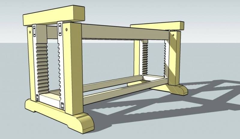 New Woodworking Bench (Parts I & II of II)