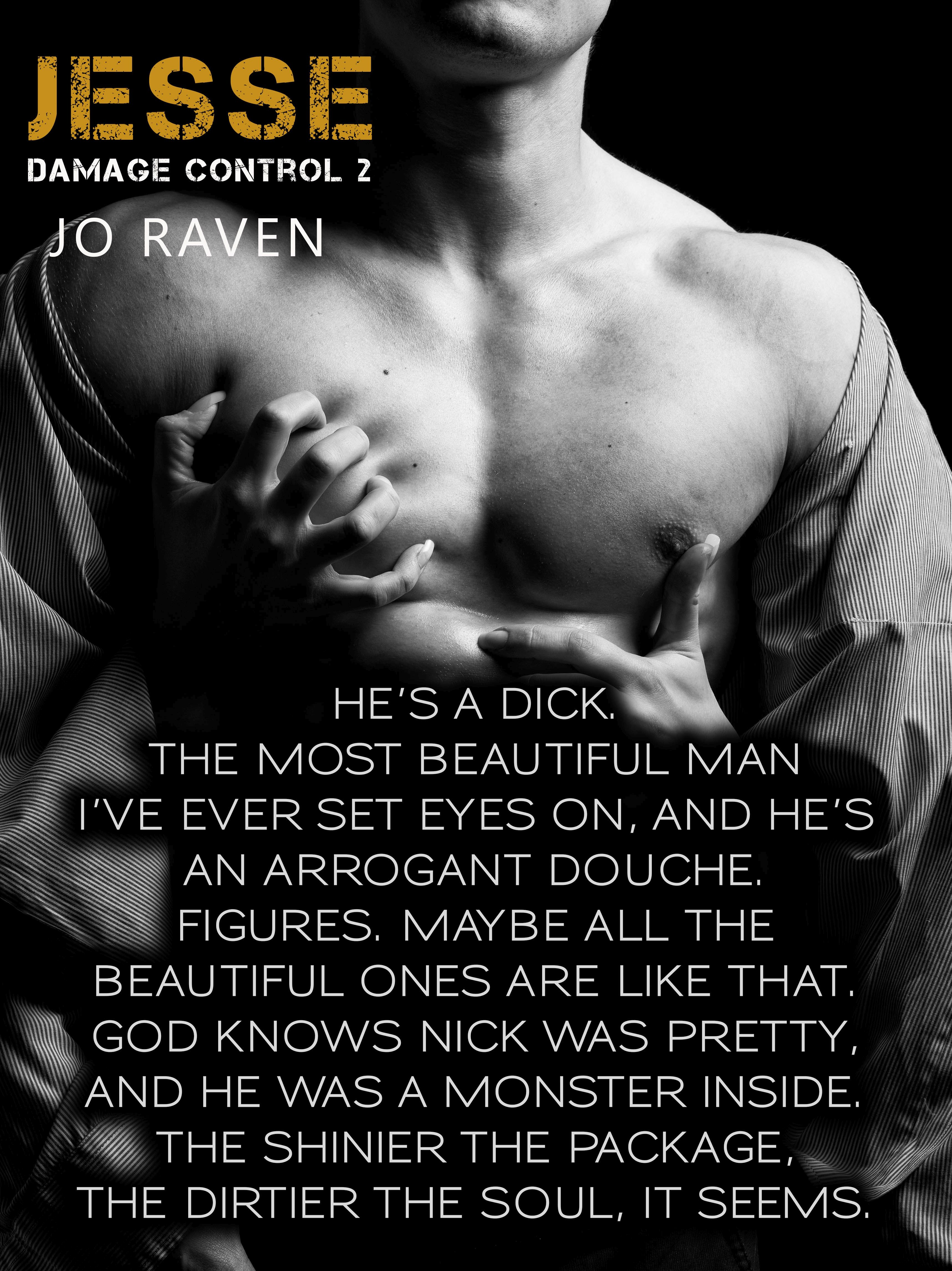 Excerpt and Release of JESSE (Damage Control #2) by Jo Raven