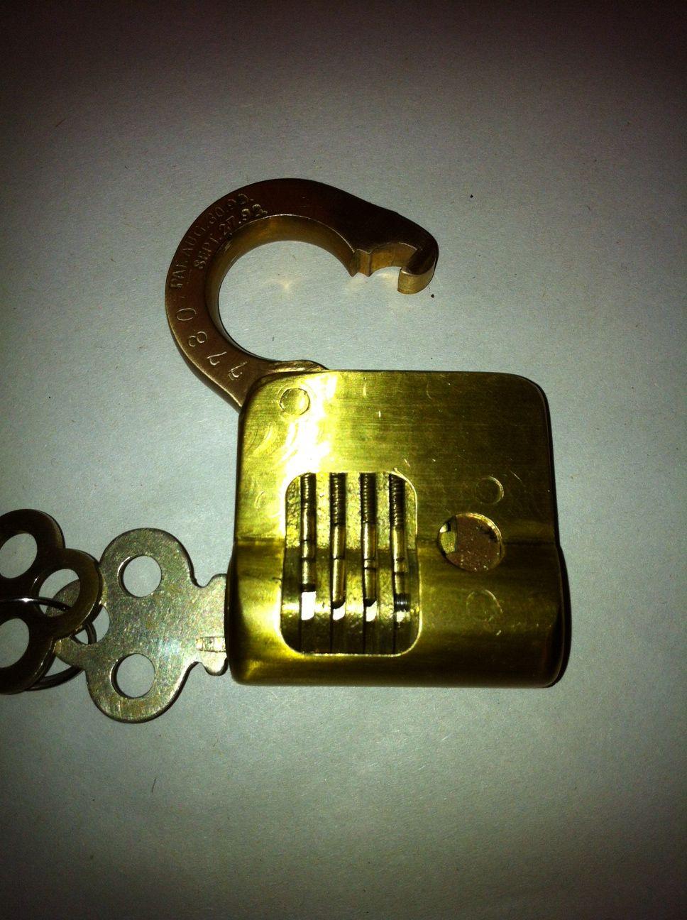One Of My Favorite Corbin Pin Tumbler Cutaway Padlocks