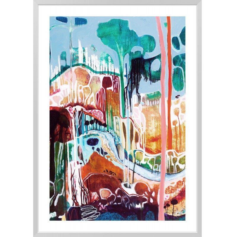 "Lisa Morgan ""Slow Degrees of Country"" | Framed Art PrintThe Block Shop - Channel 9"