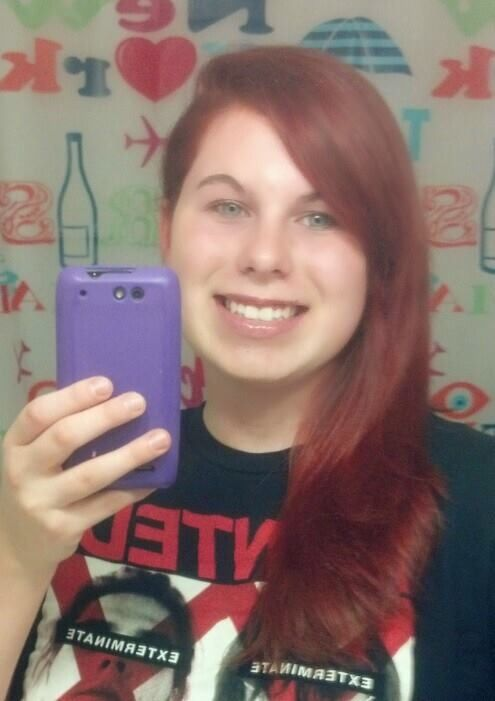 Dyed my hair red 11/18/13