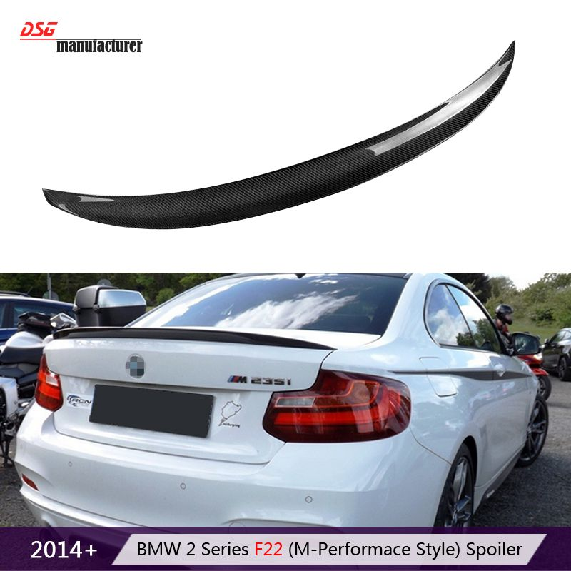 F22 Coupe F23 Convertible Carbon Fiber Trunk Spoiler Rear