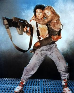 Image result for ellen ripley and newt