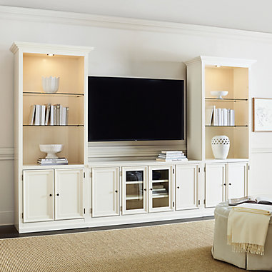 Tuscan 3 Piece Large Media Cabinet Group Ballard Designs In 2020