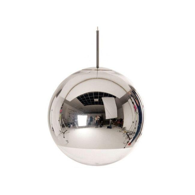 Mirror Ball Pendant by Tom Dixon | MBB50AUL #pendantlighting