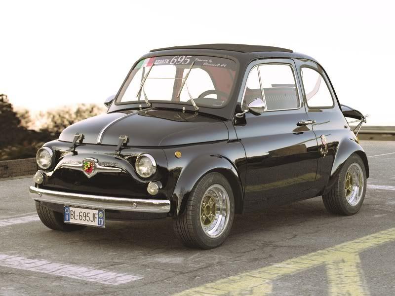 2010 Fiat 500 Gt Concept Built By Mopar Underground Fiat 500