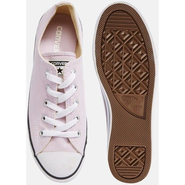 converse lilac chuck taylor all star dainty trainers