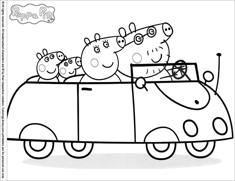 Coloriage De Peppa Pig A Imprimer Lovely 111 Dessins De Coloriage
