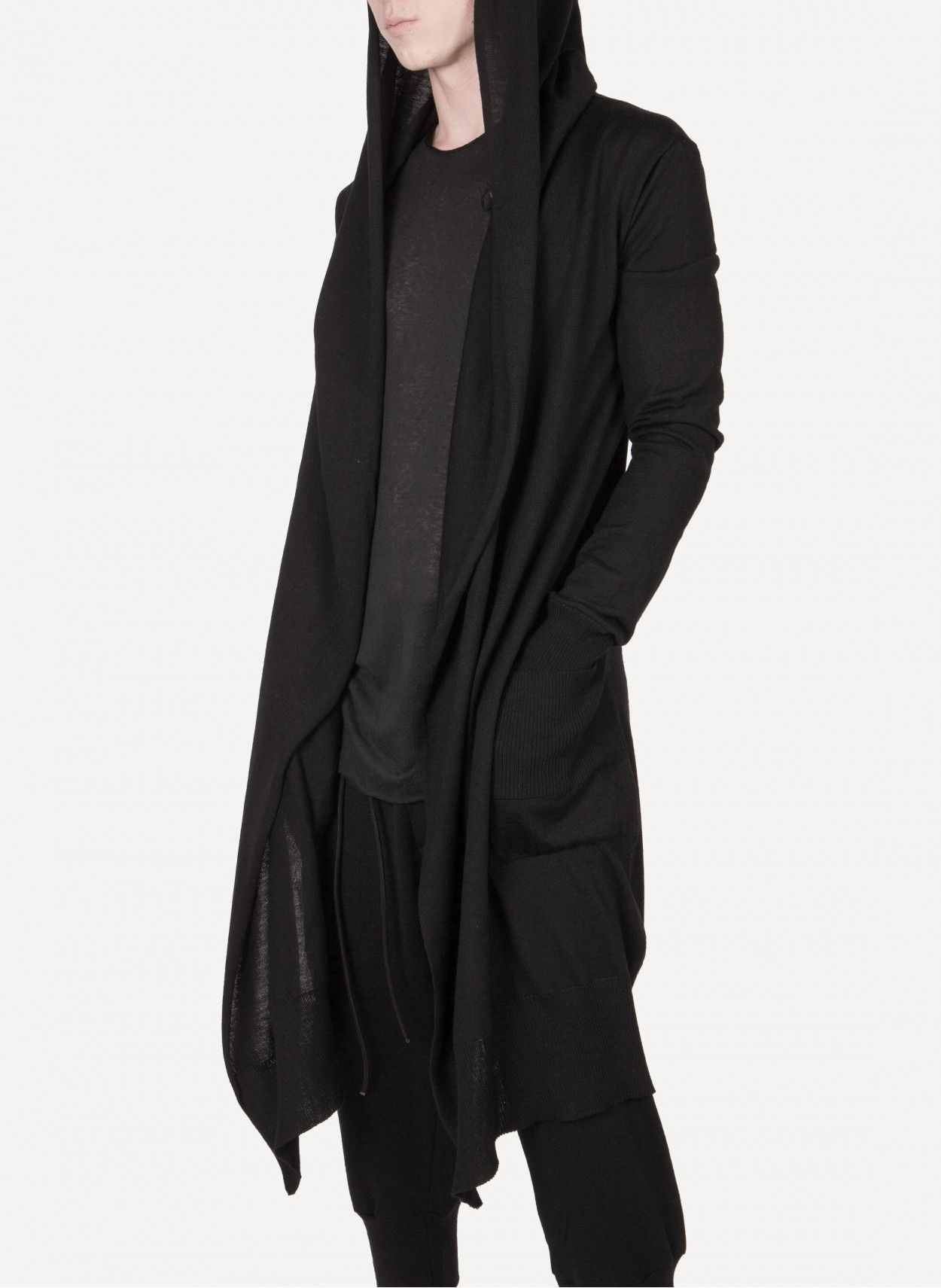 Daniel Andresen - SULA Long Hooded Cardigan https://cruvoir.com/en ...