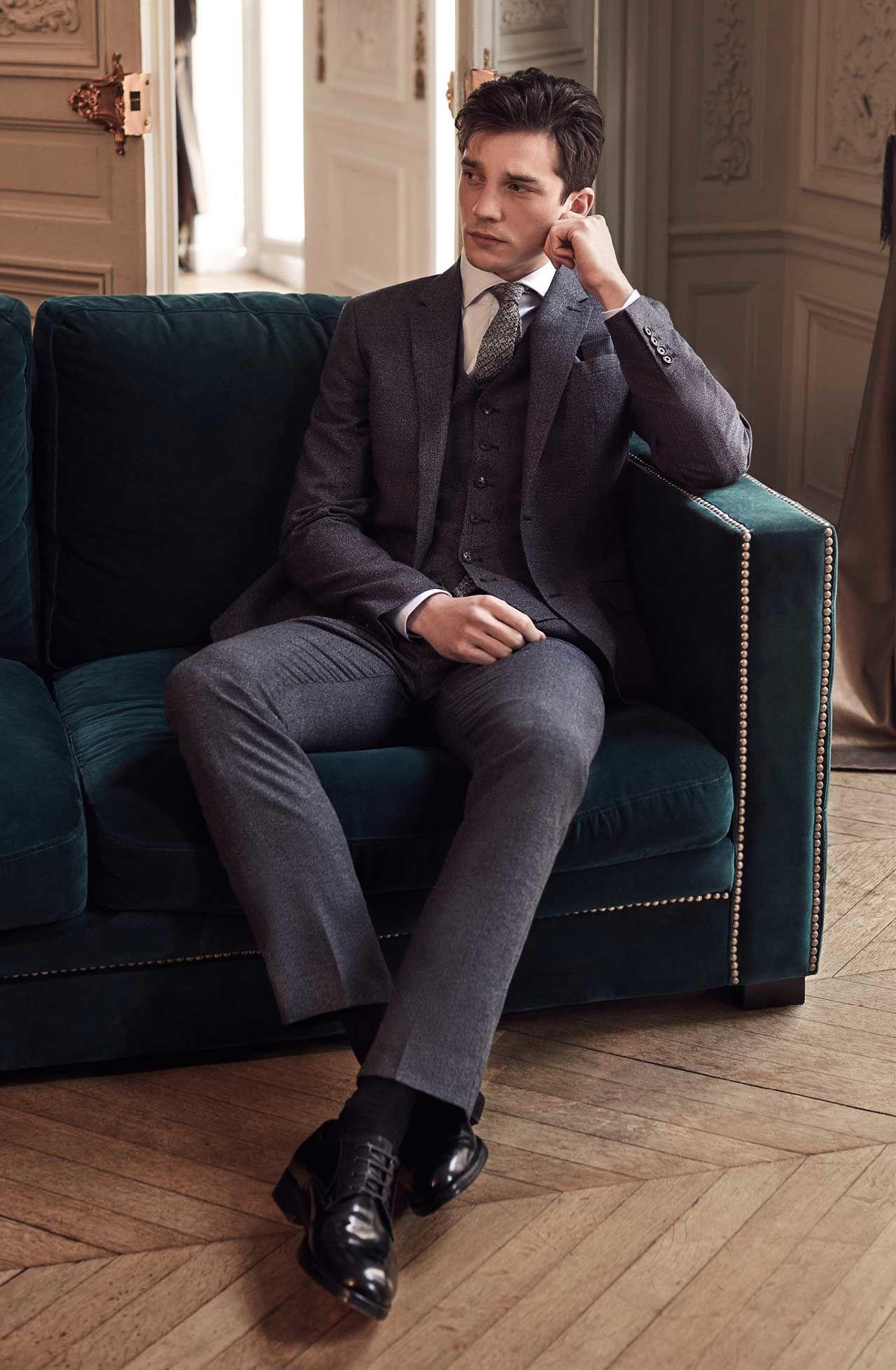 To The Wedding Reiss Editorial Tuxedo for men, Mens
