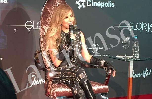 <p>Ciudad de México.- Tremendo susto se llevó la cantante Gloria Trevi hace unos días en su domicilio de Monterrey Nuevo León