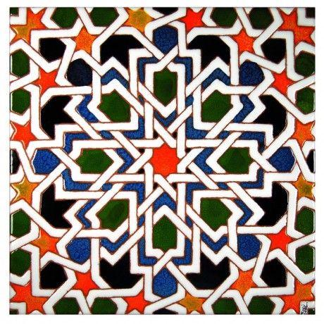 Azulejo Granada  Celosas  Diseo rabe Azulejos y