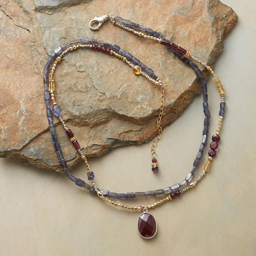 THREE OF A KIND NECKLACE: View 2
