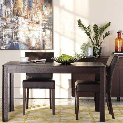 Kasala Modern Basic Wood Dining Table Seattle Bellevue Modern Furniture New Place
