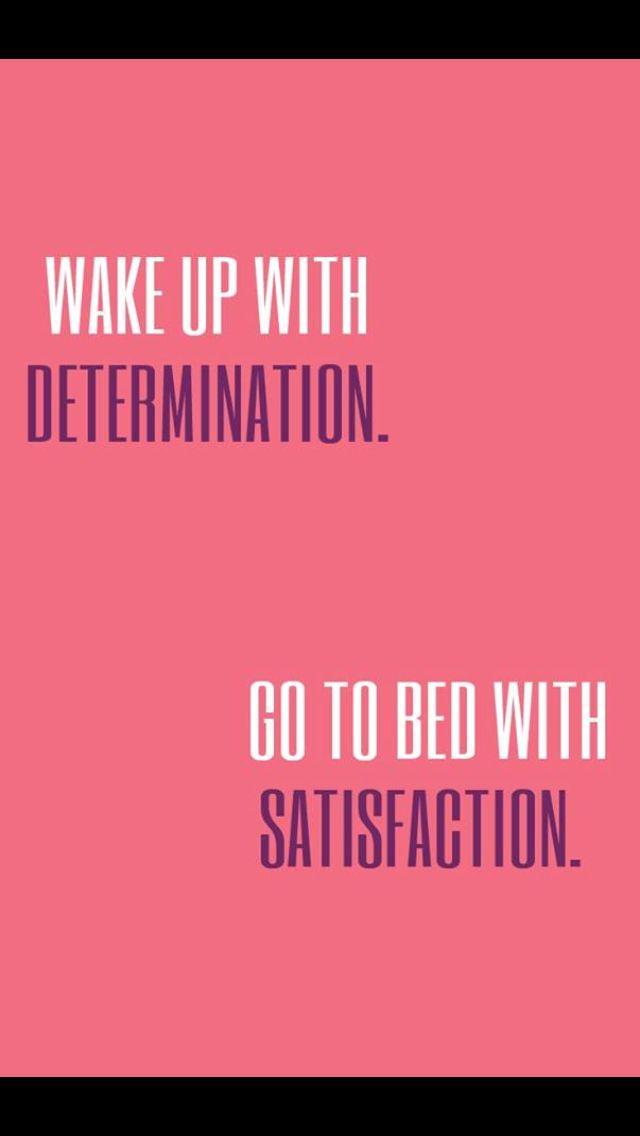 Morning satisfaction