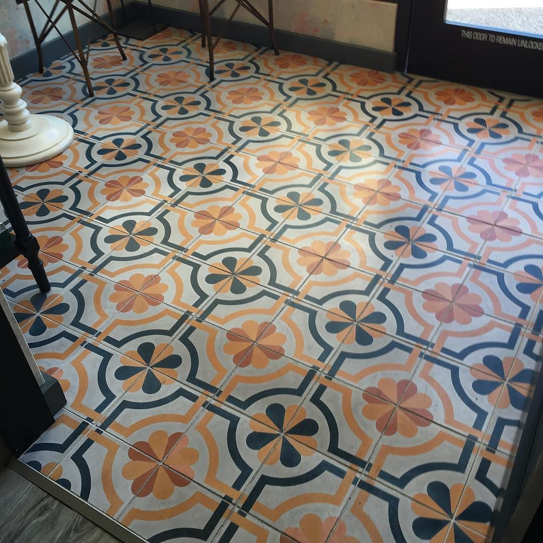So Exciting To Stumble Upon Our Cement Tile Sicily During My Stay In Houston If You Are Nearby Must Stop Latablehouston