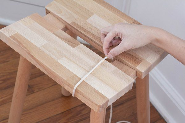 Easy Scandi-Inspired DIY Using This Sweet IKEA Stool | Hunker
