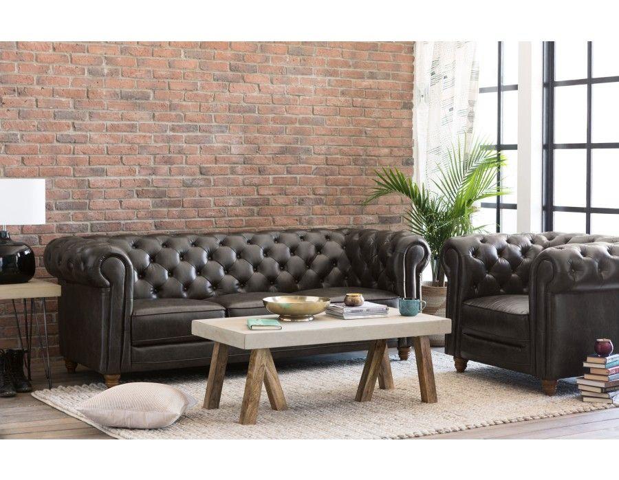 Cardiff 3 Seater Sofa Structube Living Room Inspo Furniture Modern Home Furniture